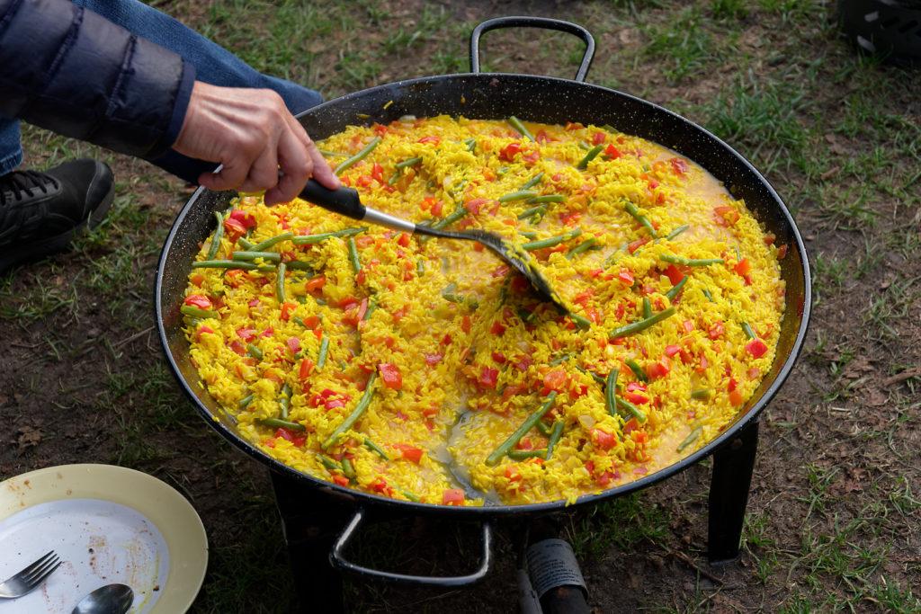 Gemeinsam kochen: Paella